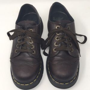 Dr. Martens Brown Leather Oxford Shoes Lace 8651 7